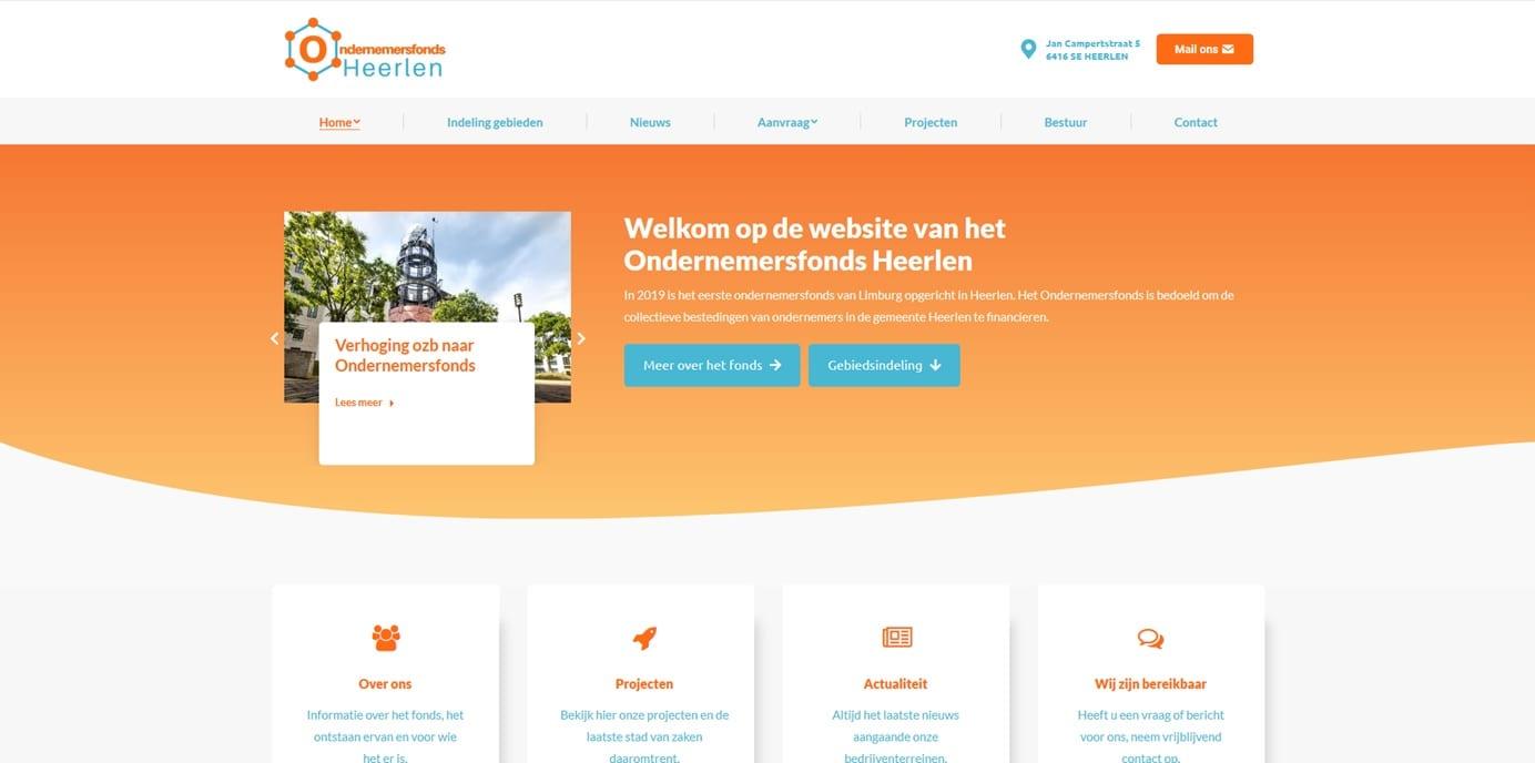 Ondernemersfonds Heerlen is online!