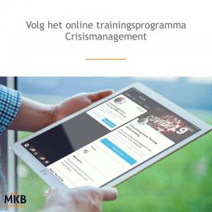 Gratis online trainingsprogramma Crisismanagement
